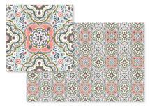 Floral Mosaic by Elizabeth Atlas
