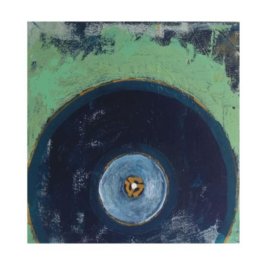 art prints - throwback tunes series-45 vinyl by ann t jones