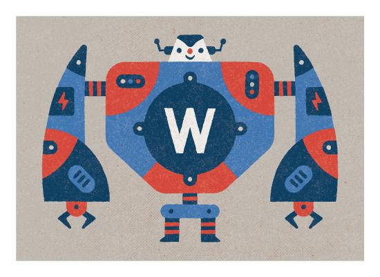 art prints - Big Robot by Bob Daly