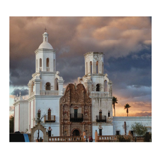art prints - Spanish Mission Entrance by A Maz Designs