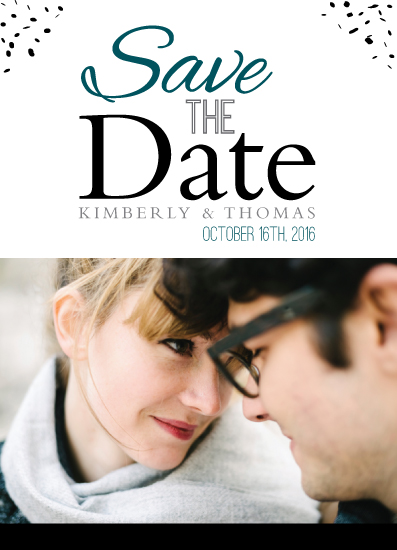 save the date cards - Classic Admiration by Michelle Afentoulis