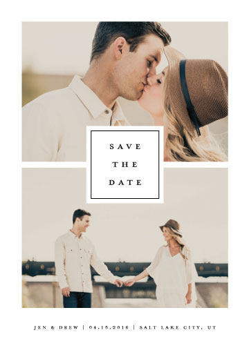 save the date cards - All In by Stacey Meacham