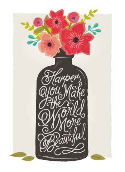 art prints - beautiful message by Karidy Walker