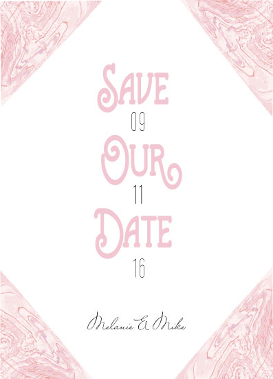 save the date cards - Save Our Date by Neeta Sawhney