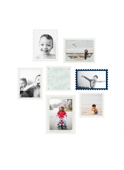 art prints - Stamp Collection by Baumbirdy