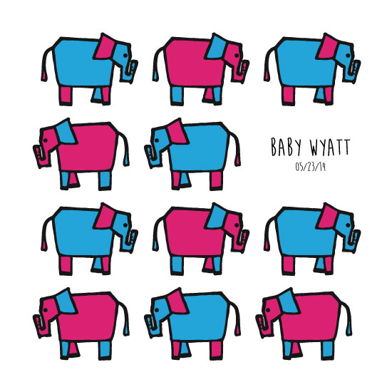 art prints - Baby Elephants by Laura Palmer