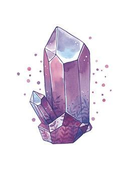 Birthstone Crystal Amethyst