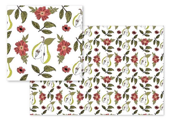 fabric - A Fickle Pear by Juliana Nahas-Viilo