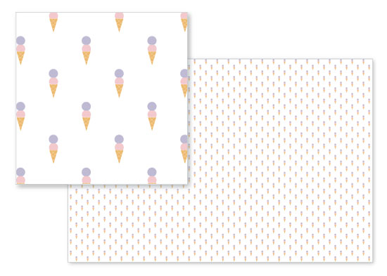 fabric - i scream for ice cream by Belinda Symons
