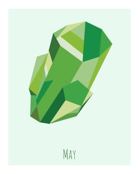 art prints - Emerald by Kirsten Alexis