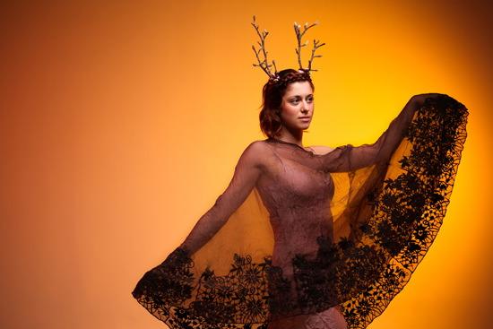 art prints - Budding Branches in Golden Light by Elena Kulikova