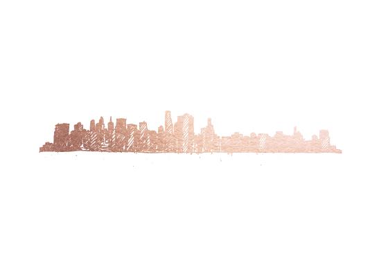 art prints - NYC Skyline by Phrosne Ras