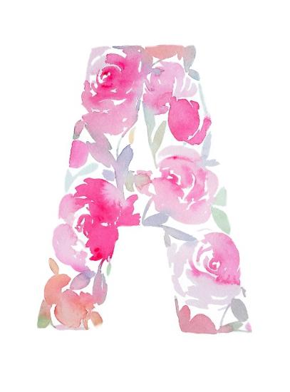 art prints - Floral Monogram by Stephanie Fehrenbach
