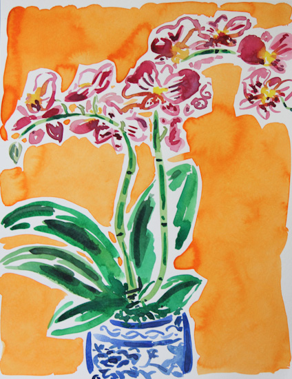 art prints - Orchid by Gina Langford