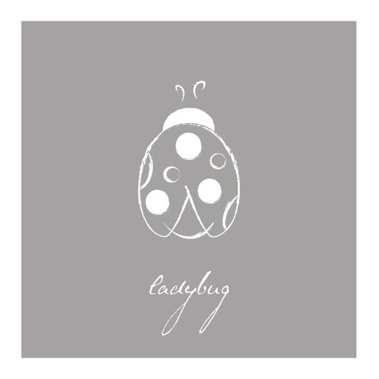 art prints - simple ladybug by Brooklyn