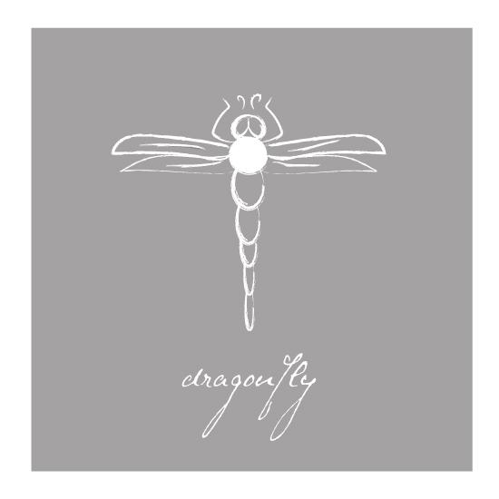 art prints - simple dragonfly by Brooklyn