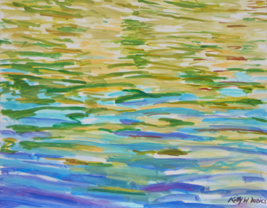art prints - Currents by Kitty W Dudics