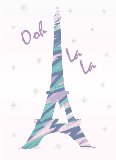 art prints - Ooh La La by Stephanie Rose