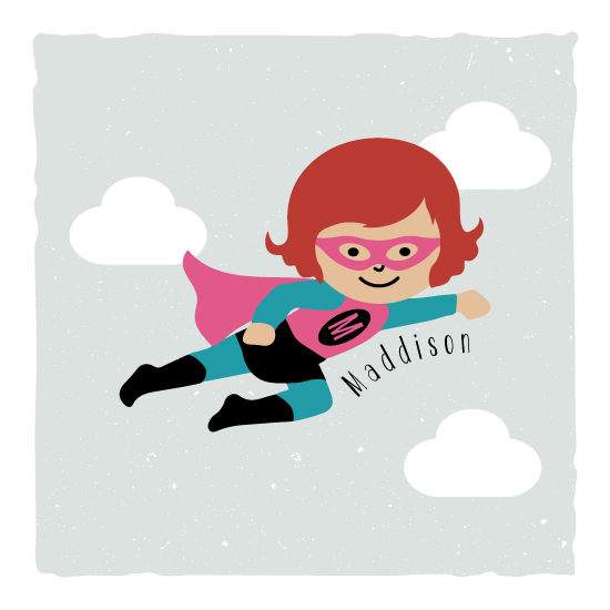 art prints - My Superheroine by Kampai Designs