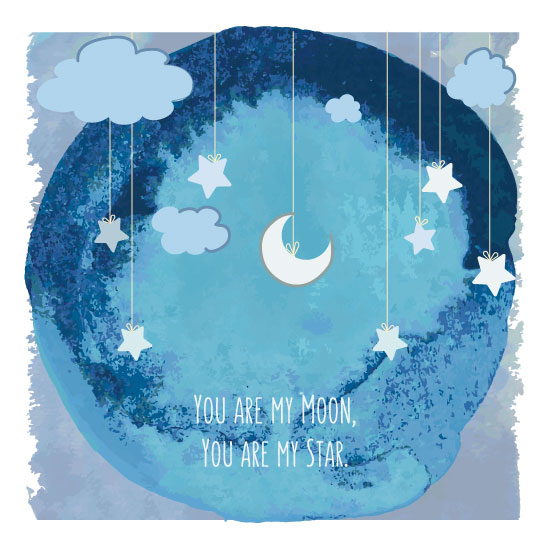 art prints - You're my Star by TheOchreBellyDesign