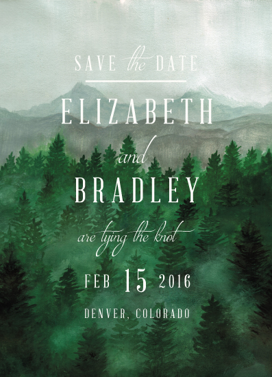 save the date cards - Adventure Awaits by Elly