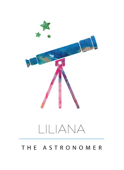 art prints - The Astronomer by Priya