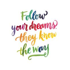 Your Dreams Know the Way