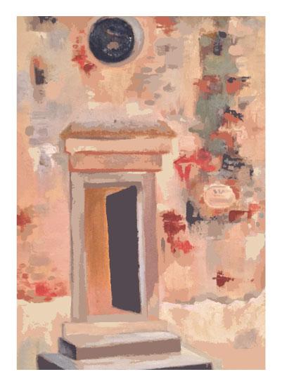 art prints - Italian Entrance by Leanne Owens