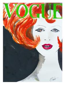 art prints - Vintage Vogue by Nathan Dixon
