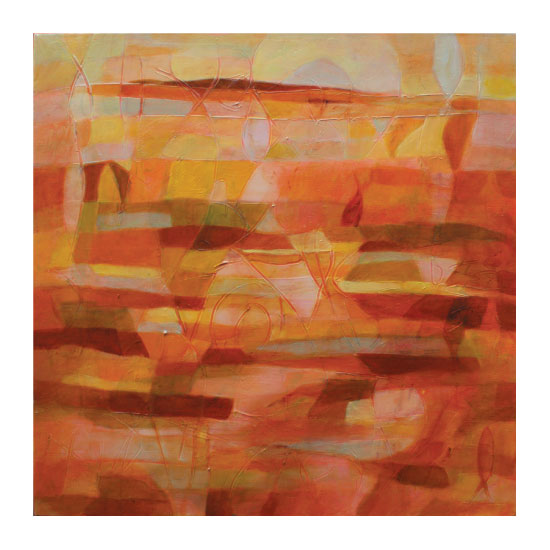 art prints - Tierra Rosa by Sarah Diaz-Bastin