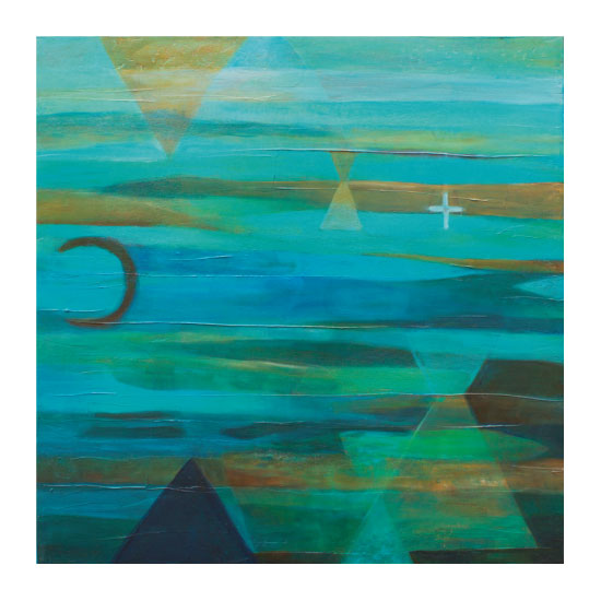 art prints - Sueno Turquesa (Turquoise Dream) by Sarah Diaz-Bastin