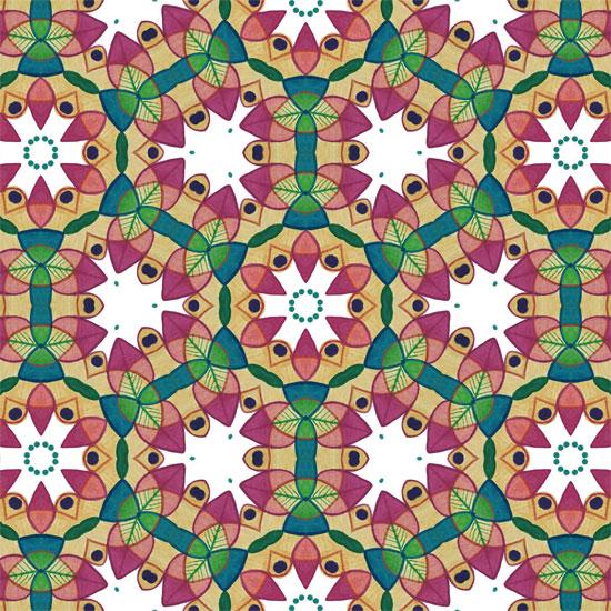 art prints - Kaleidoscopic by Niki Mangino