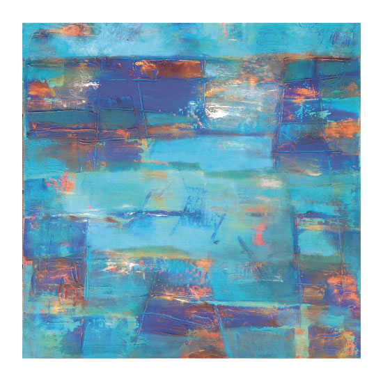 art prints - Blue Jazz by Sarah Diaz-Bastin