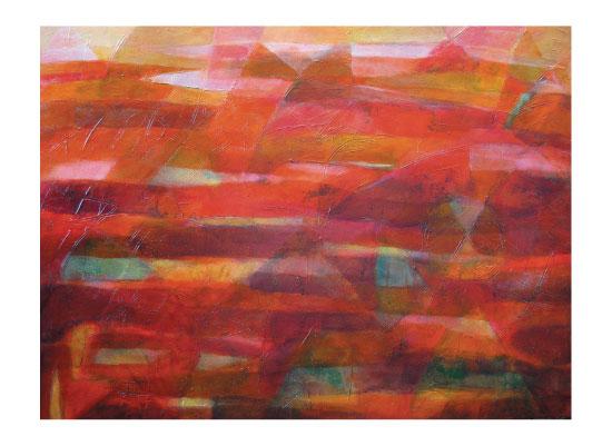 art prints - Tierra Rojo by Sarah Diaz-Bastin