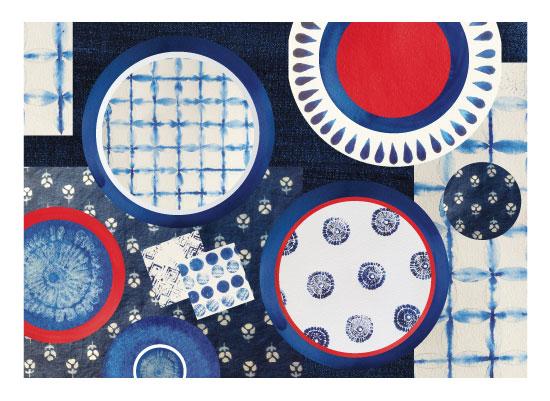 art prints - Tablescape by Priya