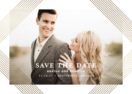save the date cards - Grand by Lauren Chism