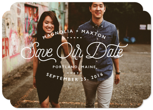 save the date cards - Something New by 24th and Dune
