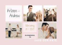 Blush Collage by A Design Studio