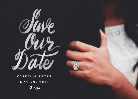 save the date cards - Jott by Snow and Ivy