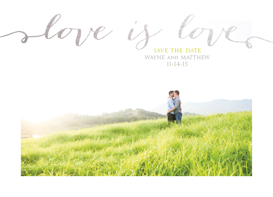save the date cards - Radiant Love by Evelyn Francis Cook