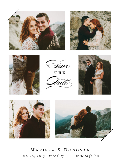 save the date cards - Snapshots by Jennifer Wick