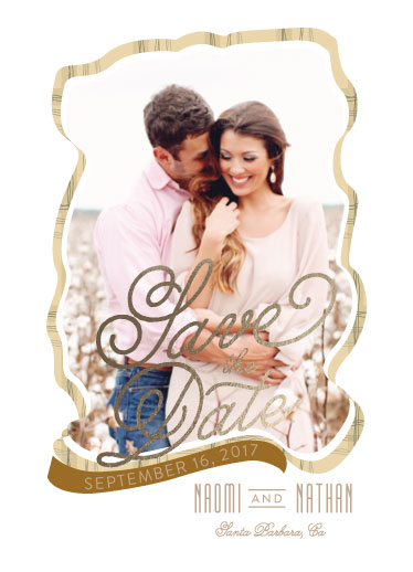save the date cards - Journey of Love by Leebert