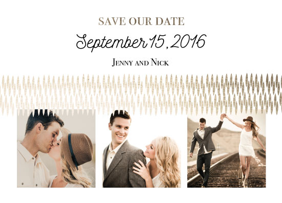 save the date cards - Honest, I do by Jillian Bull