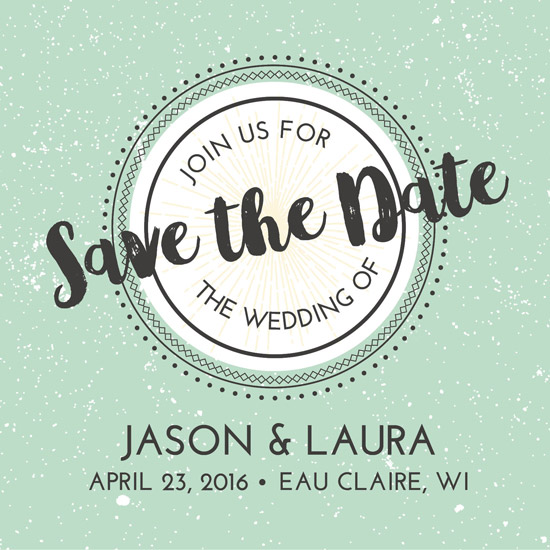 save the date cards - Minted by Jodi Stevens