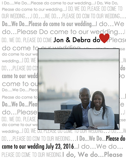 save the date cards - Please Do... by Leslie Chalfont