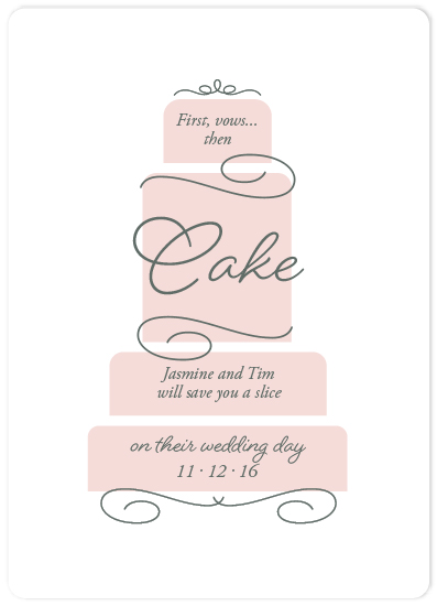 save the date cards - Then Cake by Jen H