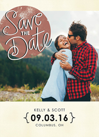 save the date cards - Save the Date Chic by Peppermill Creative