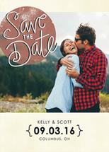 Save the Date Chic by Peppermill Creative