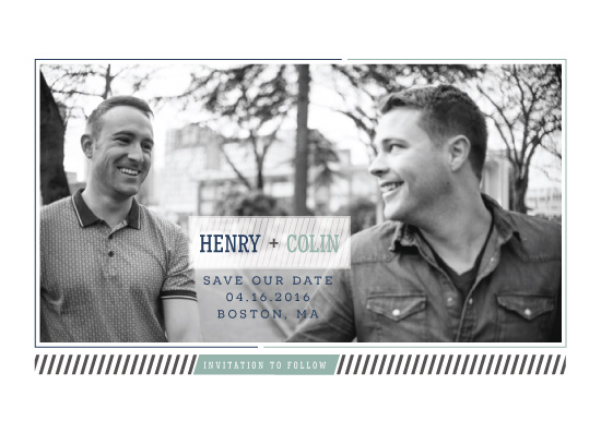 save the date cards - Connection by Denise Anne