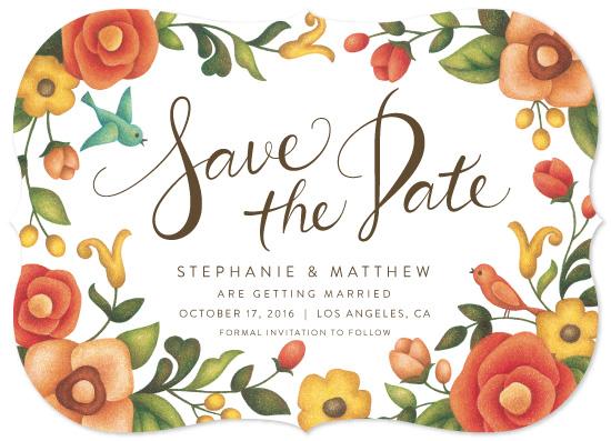 save the date cards - Flower Love by Naoko Matsunaga